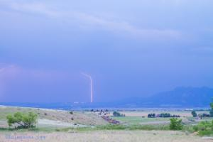 Boulder Colorado Lightning Strike