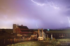 Thunderstorm on The Farm