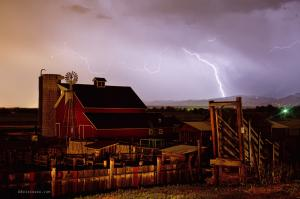 Mcintosh Farm Lightning Thunderstorm