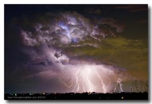 For Immediate Release New Lightning Storm Weather Photography Fine Art Prints